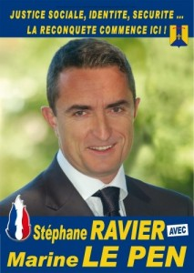 Stéphane Ravier: 7th Secteur de Marseille, Pop. 150,000