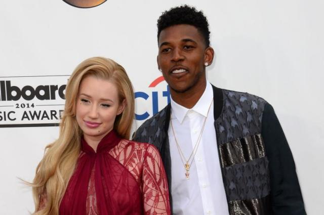 Iggy Azalea with LA Lakers boyfriend Nick Young